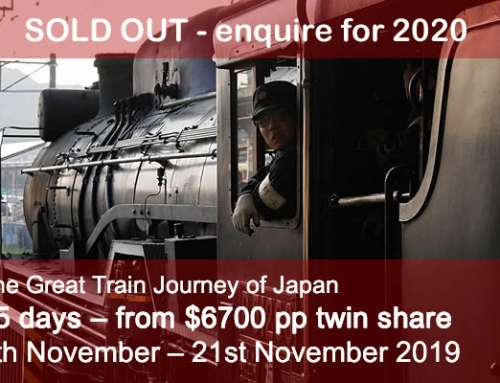 The Great Train Journey of Japan – Autumn 2019