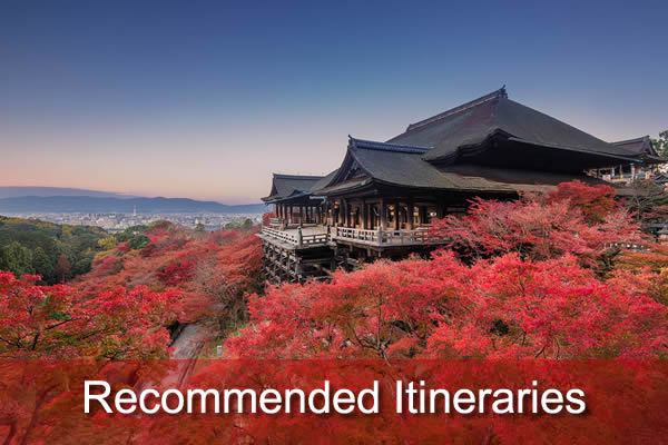 Recommended Itineraries