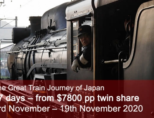 The Great Train Journey of Japan – Autumn 2020