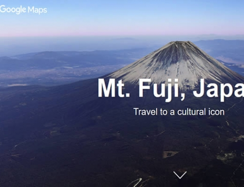 Visit Japan with Google Street view