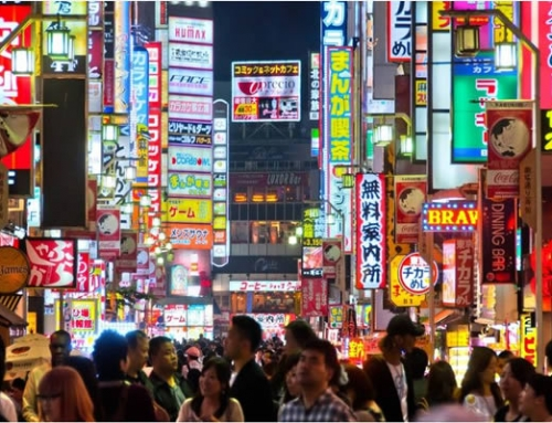 Visit Japan with Google Street view – this week – Dotonbori Canal, Osaka