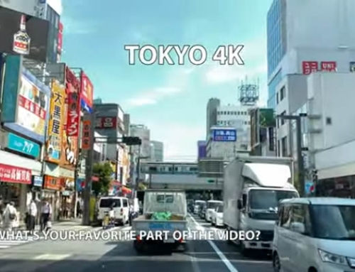Take a virtual drive through downtown Tokyo