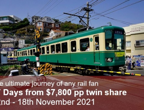The Great Train Journey of Japan Autumn 2021