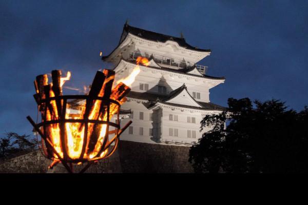 Odawara-Castle-night