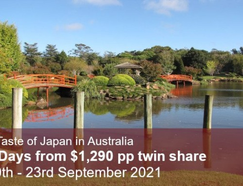 Toowoomba Carnival of Flowers Garden Tour 2021
